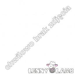 Nosidełko Ergonomiczne z tkaniny żakardowej 100% bawełna , Baby Size, GALEONY GRANAT Z BIELĄ